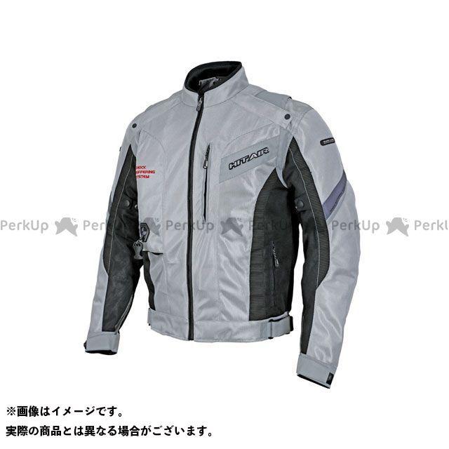 ヒットエアー ジャケット MX-8 エアバッグメッシュジャケット(ライトグレー) サイズ:2XL hit air