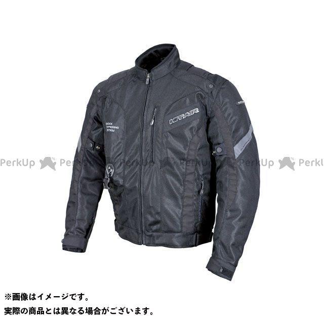 ヒットエアー ジャケット MX-8 エアバッグメッシュジャケット(ブラック) サイズ:L hit air