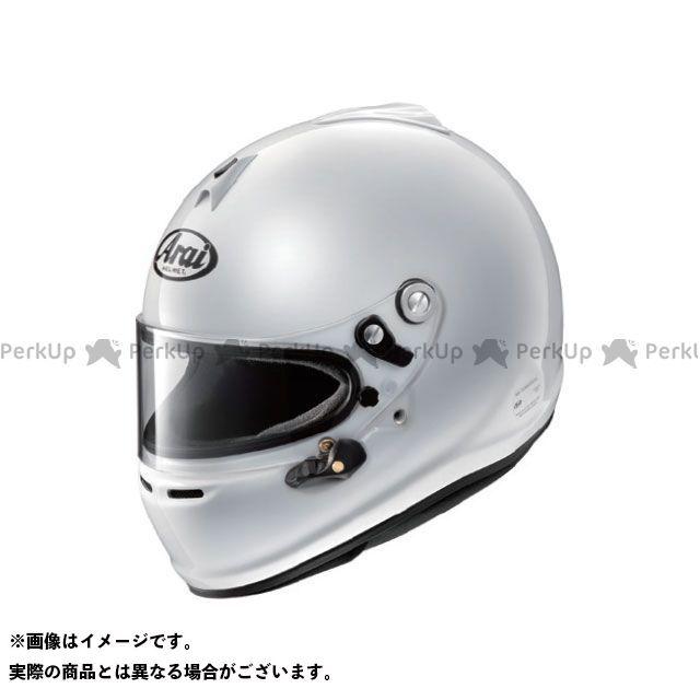 【エントリーで更にP5倍】Arai 四輪・カート用ヘルメット GP-6S 8859(ホワイト) サイズ:54cm アライ ヘルメット