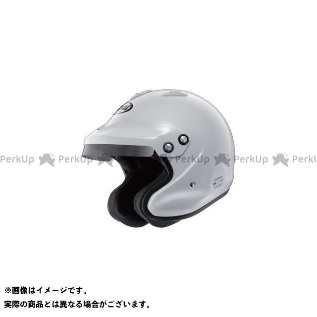 【エントリーで最大P21倍】Arai 四輪・カート用ヘルメット GP-J3-8859 4輪ラリー用(ホワイト) サイズ:57-58cm アライ ヘルメット
