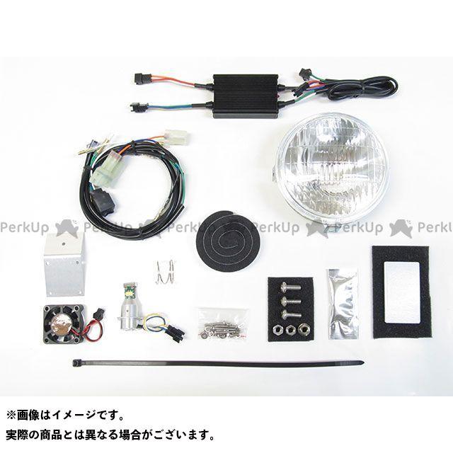 送料無料 PROTEC クロスカブ110 クロスカブ50 ヘッドライト・バルブ 63006-30 LEDクラシカルヘッドライトキット 3000K