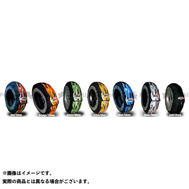 ゲットホットタイヤウォーマー TMAX500 TMAX530 タイヤその他 GP-EVO R T-MAX専用サイズ レッド/シルバー