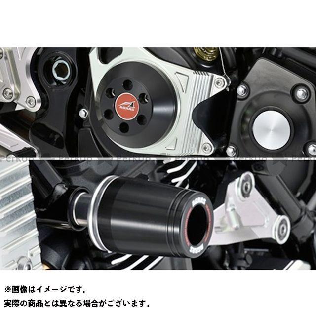 AGRAS Z900RS スライダー類 レーシングスライダー 3点セット フレームφ50+クラッチA ブラック ロゴ無 アグラス