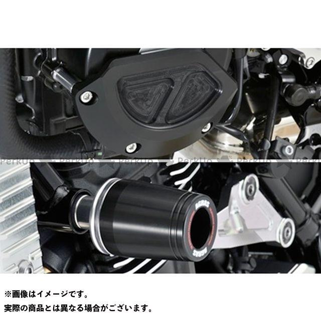 【エントリーで更にP5倍】AGRAS Z900RS スライダー類 レーシングスライダー 3点セット フレームφ50+ジェネレターB ジュラコンカラー:ブラック タイプ:ロゴ無 アグラス
