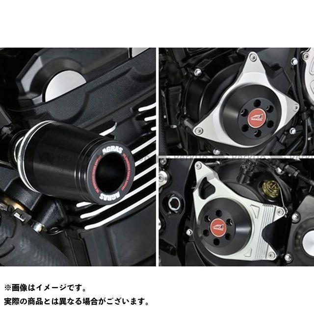 【エントリーで最大P21倍】AGRAS Z900RS スライダー類 レーシングスライダー 4点セット フレームφ50+ジェネレターA+クラッチA ジュラコンカラー:ホワイト タイプ:ロゴ有 アグラス