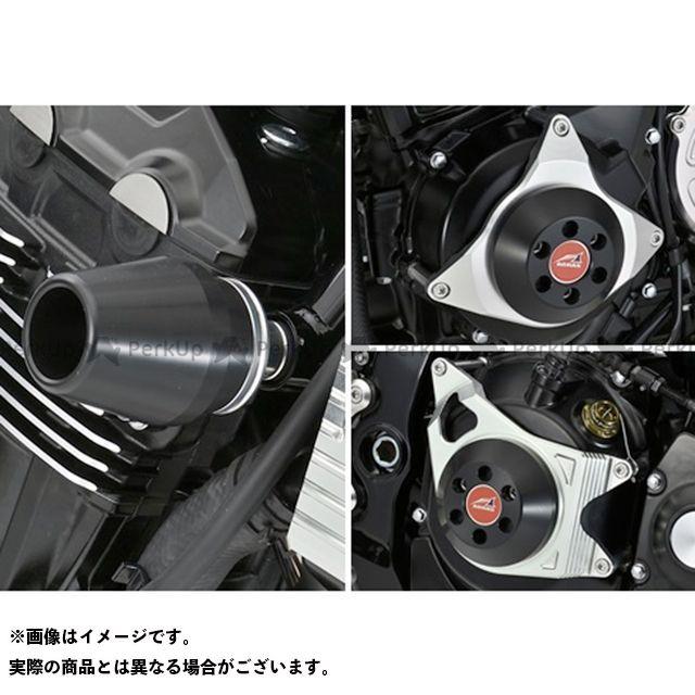【エントリーで最大P21倍】AGRAS Z900RS スライダー類 レーシングスライダー 4点セット フレームφ60+ジェネレターA+クラッチA ジュラコンカラー:ブラック アグラス