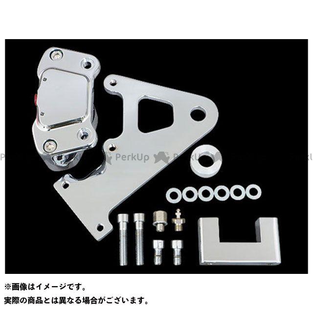 ジーエムエー FXR スーパーグライド キャリパー 2ポッドブレーキキット85-99yFXRR11.5inクローム