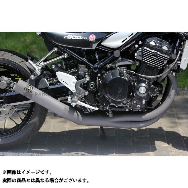 スペシャルパーツタダオ Z900RS マフラー本体 POWER BOX FULL 4in1 耐熱ブラック SP忠男