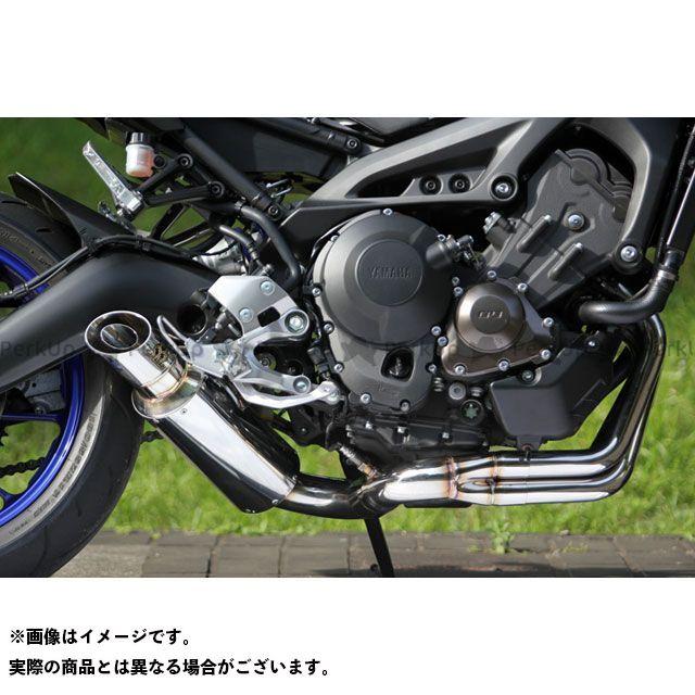 スペシャルパーツタダオ MT-09 マフラー本体 POWER BOX FULL SS SP忠男