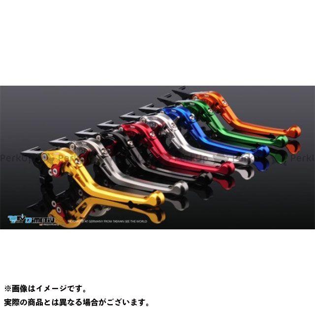 Dimotiv KLR650 レバー TYPE2 アジャストレバー ブレーキレバー カラー:ブラック ディモーティブ