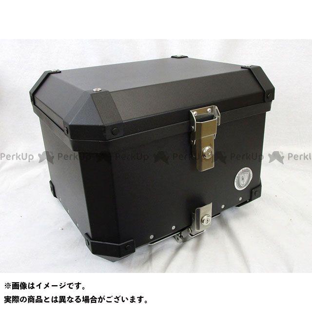 ビヨンド 汎用 ツーリング用ボックス スクエア ハード トップボックス 40リットル(ブラック) BEYOND