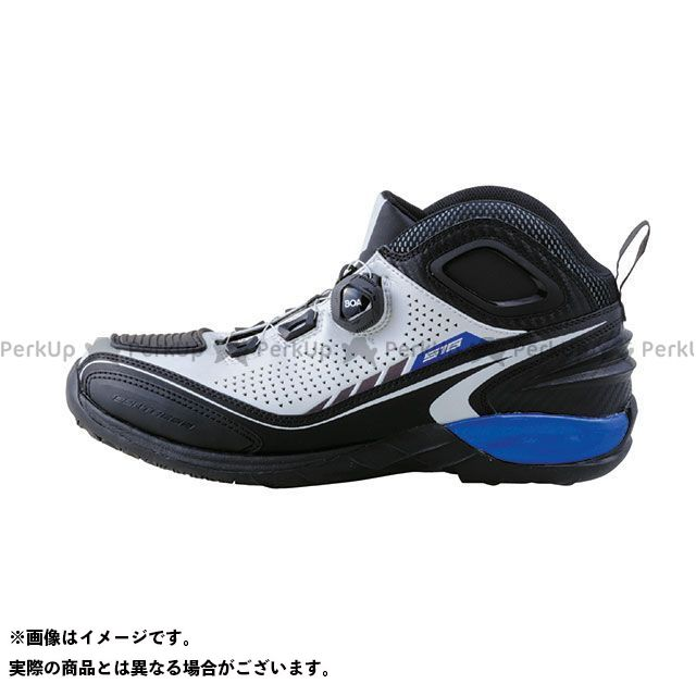 送料無料 elf shoes エルフシューズ ライディングシューズ EL016 Synthese16(シンテーゼ16)ホワイト 24.0cm