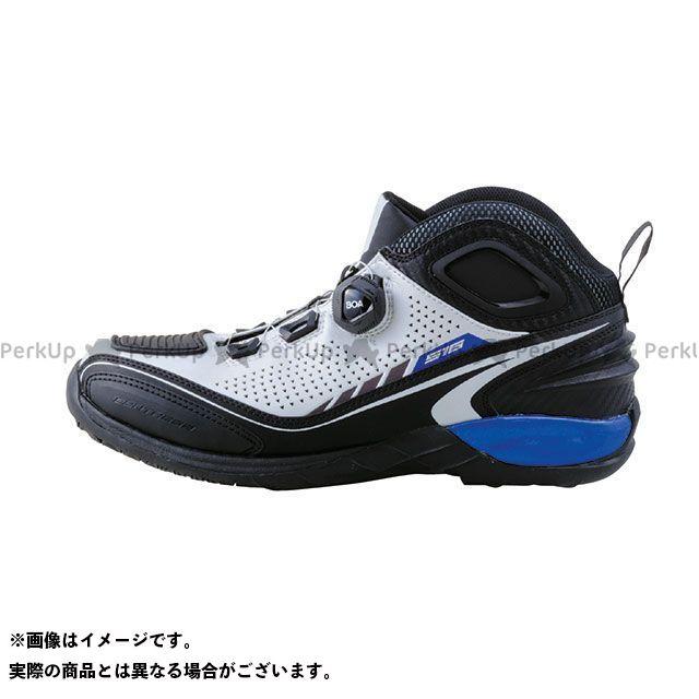 エルフシューズ ライディングシューズ EL016 Synthese16(シンテーゼ16)ホワイト サイズ:24.5cm elf shoes