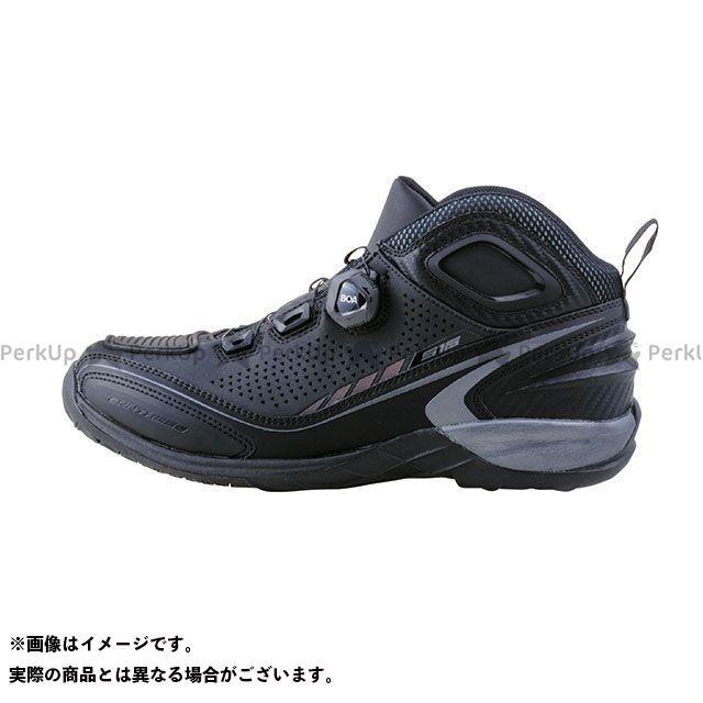 送料無料 elf shoes エルフシューズ ライディングシューズ EL016 Synthese16(シンテーゼ16)ブラック 27.5cm
