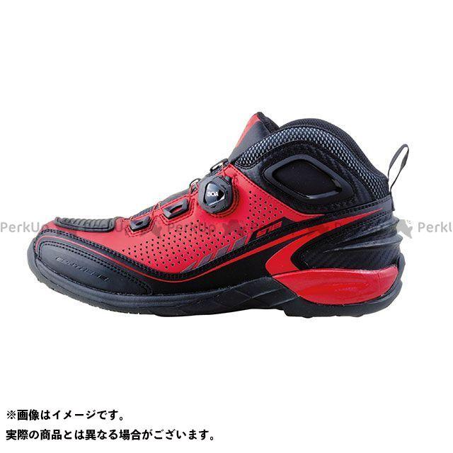 送料無料 elf shoes エルフシューズ ライディングシューズ EL016 Synthese16(シンテーゼ16)レッド 26.0cm