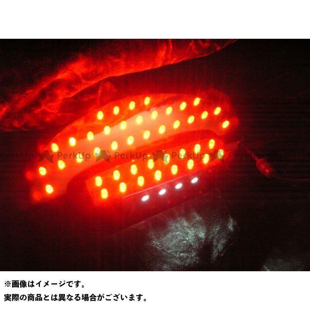 フロムネイバー バンディット250 バンディット400 その他のモデル テール関連パーツ バンディット250-2型、400V-2型/GSF400F用LEDテールユニット 上の電球がシングル球タイプ