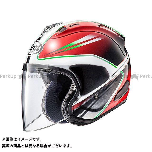アライ ヘルメット Arai ジェットヘルメット VZ-Ram WEDGE(VZ-ラム・ウエッヂ) レッド 55-56cm