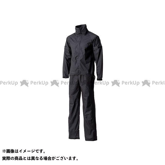 【無料雑誌付き】モーターサムライ レインウェア MSR-01 ウルトラライトレインスーツ(ブラック) サイズ:L Motor Samurai