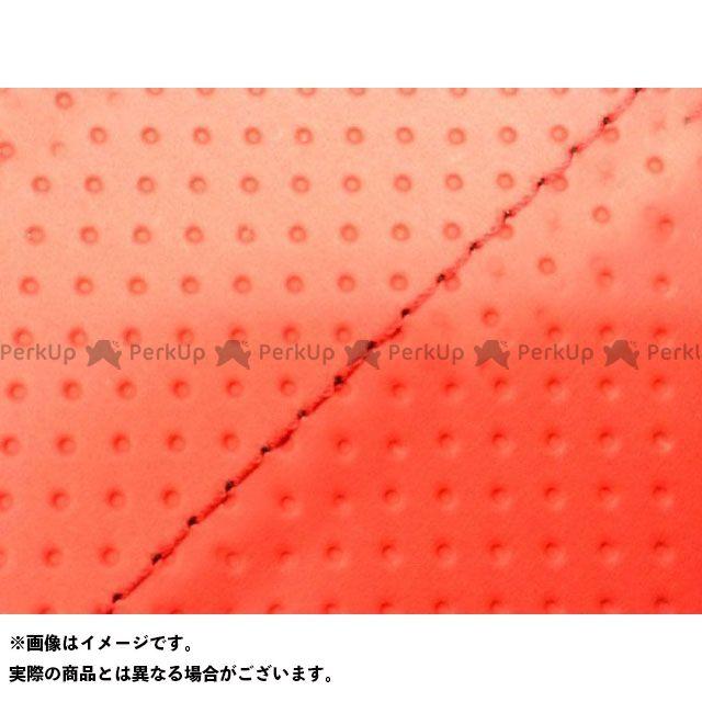 Grondement PCX125 シート関連パーツ PCX125 国産シートカバー エンボスレッド タイプ:張替 仕様:赤ステッチ 型式:JF56 グロンドマン