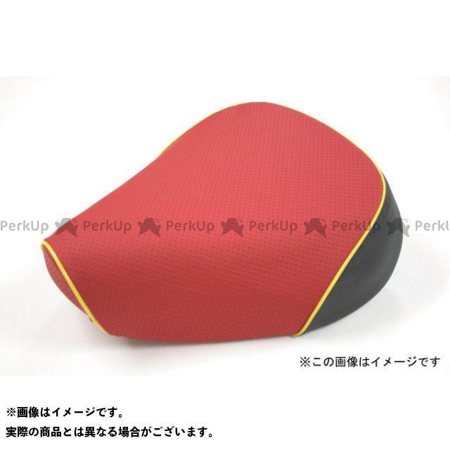 Grondement PCX125 シート関連パーツ PCX125 国産シートカバー エンボスレッド タイプ:被せ 仕様:黄パイピング 型式:JF56 グロンドマン