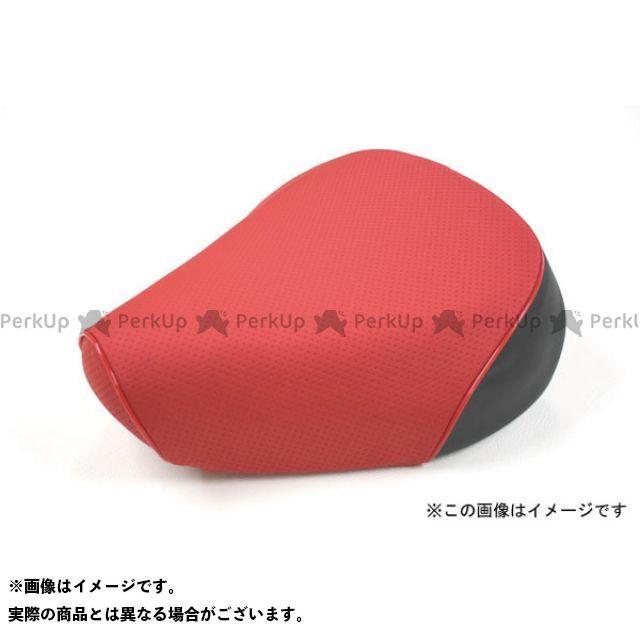 Grondement PCX125 シート関連パーツ PCX125 国産シートカバー エンボスレッド タイプ:被せ 仕様:赤パイピング 型式:初期/EPSエンジン グロンドマン