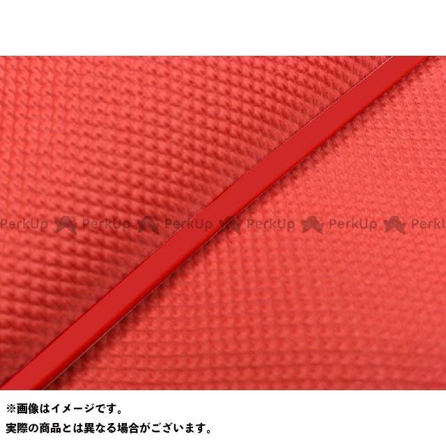 Grondement PCX125 シート関連パーツ PCX125 国産シートカバー スベラーヌレッド タイプ:被せ 仕様:赤パイピング 型式:初期/EPSエンジン グロンドマン