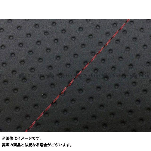 Grondement PCX125 シート関連パーツ PCX125 国産シートカバー フルエンボスブラック タイプ:張替 仕様:赤ステッチ 型式:JF56 グロンドマン