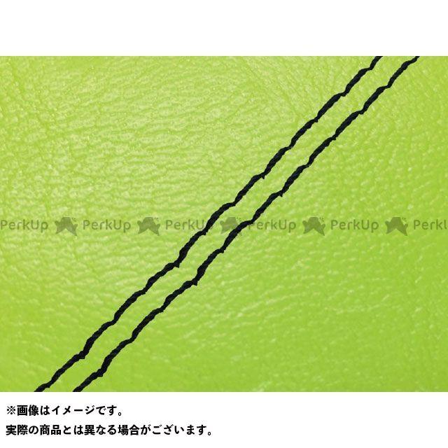 Grondement PCX125 シート関連パーツ PCX125 国産シートカバー ライムグリーン タイプ:張替 仕様:黒ダブルステッチ 型式:JF56 グロンドマン