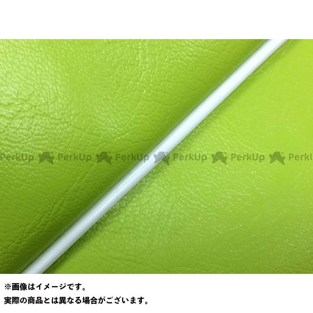 Grondement PCX125 シート関連パーツ PCX125 国産シートカバー ライムグリーン タイプ:被せ 仕様:白パイピング 型式:JF56 グロンドマン