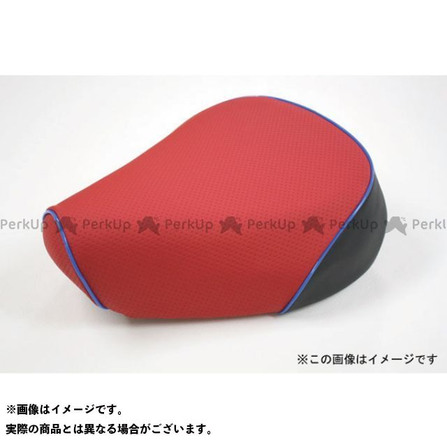 Grondement PCX125 シート関連パーツ PCX125 国産シートカバー 黒 タイプ:被せ 仕様:青パイピング 型式:JF56 グロンドマン