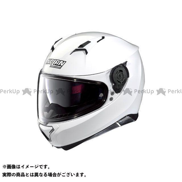 送料無料 NOLAN ノーラン フルフェイスヘルメット N87 ソリッド メタルホワイト/5 M
