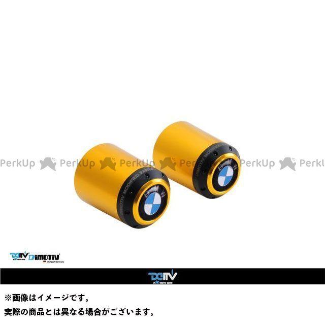 Dimotiv ハンドル関連パーツ ハンドルバーエンド K1200GT ゴールド ディモーティブ