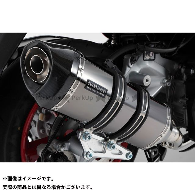 【エントリーで最大P23倍】BEAMS マジェスティS マフラー本体 GT-CORSA マフラー SMB(スーパーメタルブラック) 政府認証 ビームス