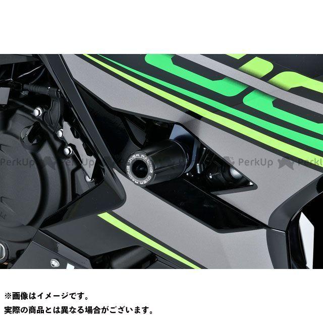 【エントリーでポイント10倍】送料無料 オーバーレーシング ニンジャ400 スライダー類 レーシングスライダー(ブラック)