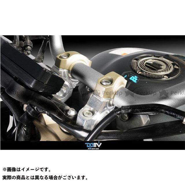 【無料雑誌付き】Dimotiv MT-09 ハンドルポスト関連パーツ ハンドルライザー MT-09 40UP 25BACK カラー:ブラック ディモーティブ