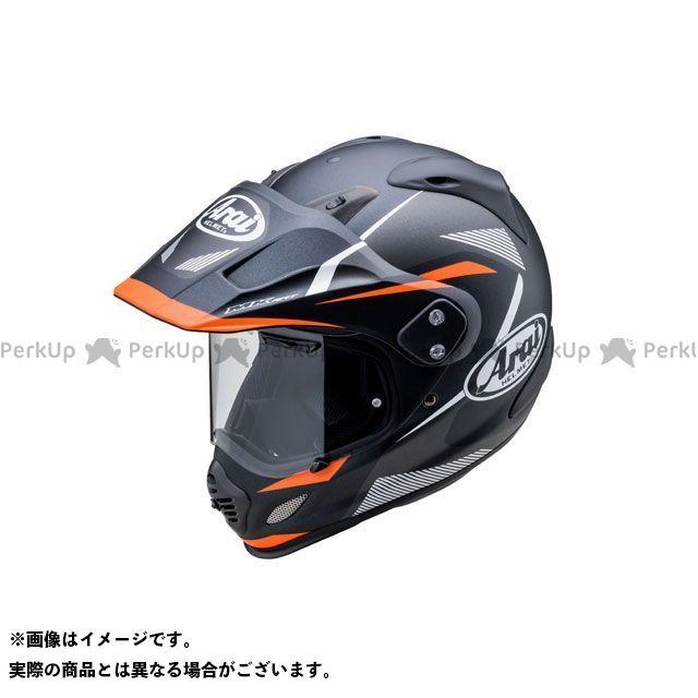 送料無料 アライ ヘルメット Arai オフロードヘルメット TOUR CROSS 3 BREAK(ツアークロス3・ブレイク) ブラック/オレンジ 55-56cm