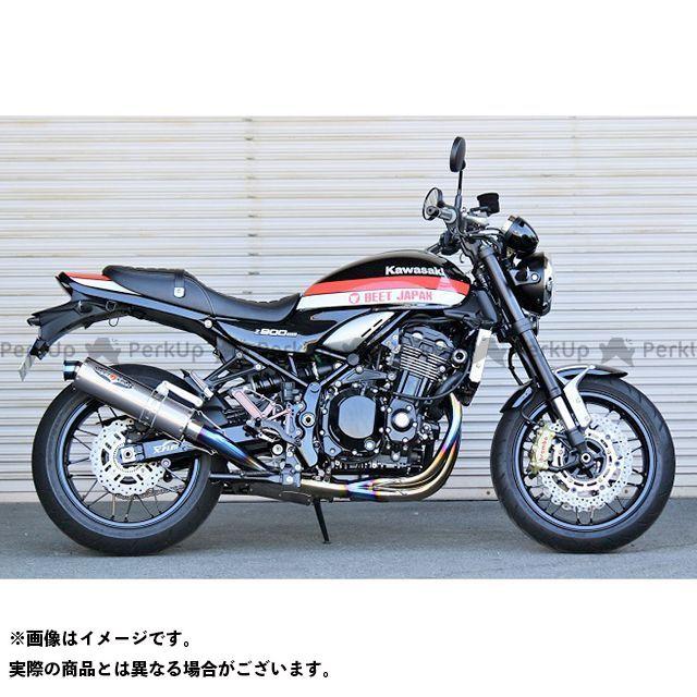 ビートジャパン Z900RS マフラー本体 NASSERT 3D STD フルエキゾーストマフラー(クリアチタン) BEET