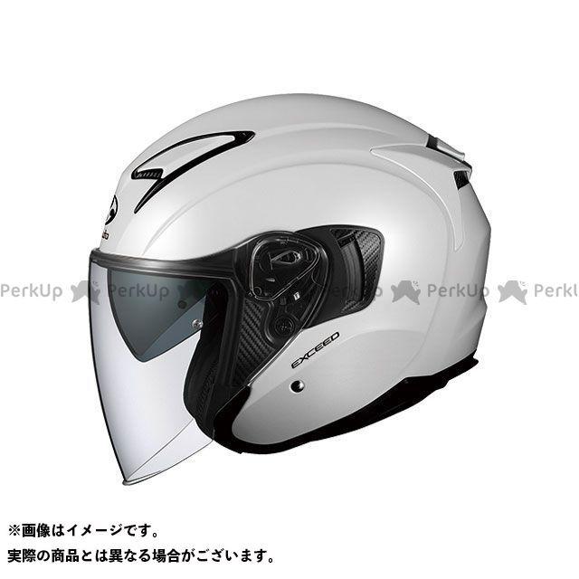 送料無料 OGK KABUTO オージーケーカブト ジェットヘルメット EXCEED(エクシード) パールホワイト XL