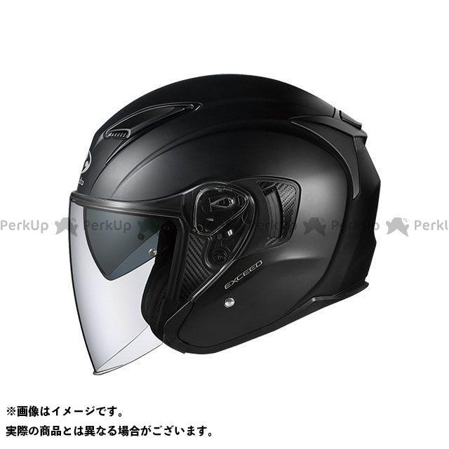 送料無料 OGK KABUTO オージーケーカブト ジェットヘルメット EXCEED(エクシード) フラットブラック XS