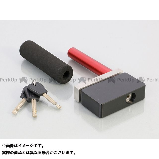 KITACO ディスクロック ディスクロック KDL-08DL(ブラック) キタコ