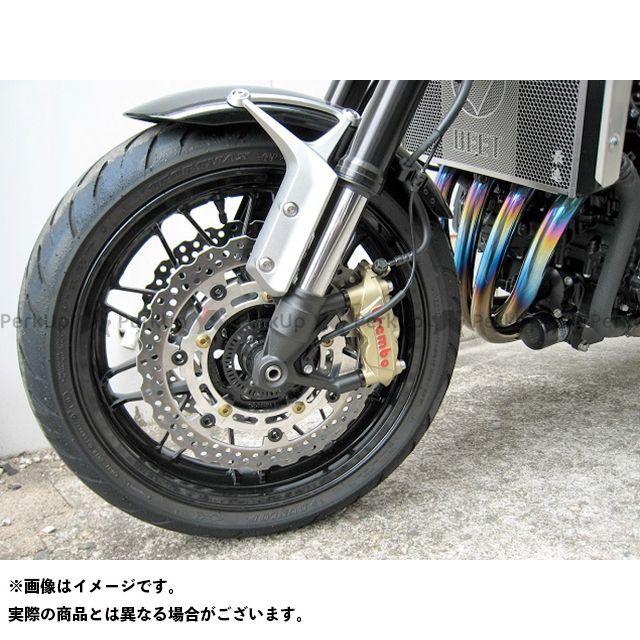 ビートジャパン Z900RS ブレーキキット ブレンボキャリパー取り付け ビッグローターキット カラー:ブラック BEET