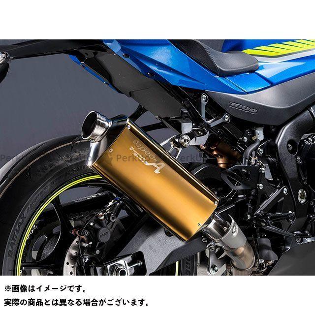【エントリーで更にP5倍】YAMAMOTO RACING GSX-R1000 マフラー本体 17~GSX-R1000R SPEC-A SLIP-ON TYPE-S ゴールド 認証 ヤマモトレーシング