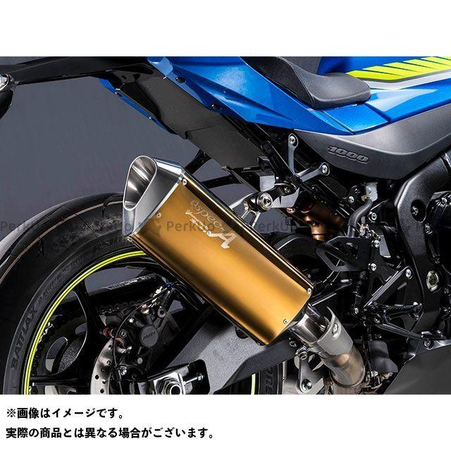 YAMAMOTO RACING GSX-R1000 マフラー本体 17~GSX-R1000R SPEC-A SLIP-ON TYPE-SA ゴールド 認証 ヤマモトレーシング