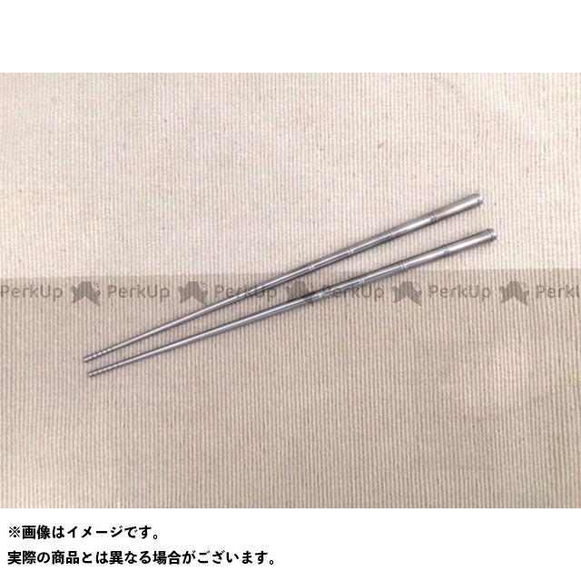 スーパーバイク SuperBike その他バイク雑貨 64チタン 箸 ショート(ポリッシュ)