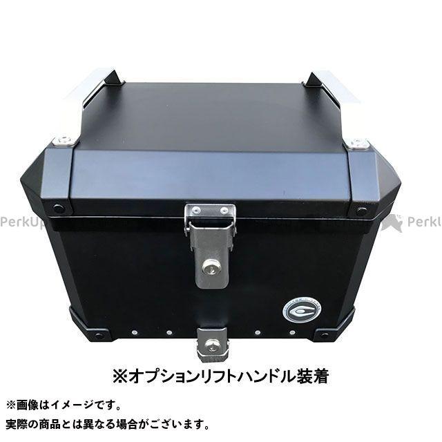 クーケース ツーリング用ボックス アルミトップケース 40L カラー:マットブラック COOCASE