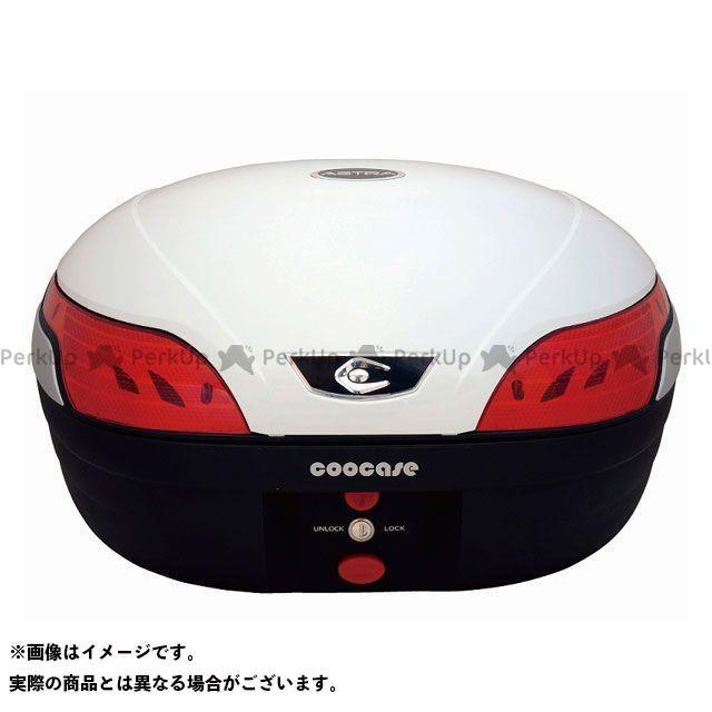 クーケース ツーリング用ボックス S48 アストラ BASIC カラー:パールホワイト COOCASE