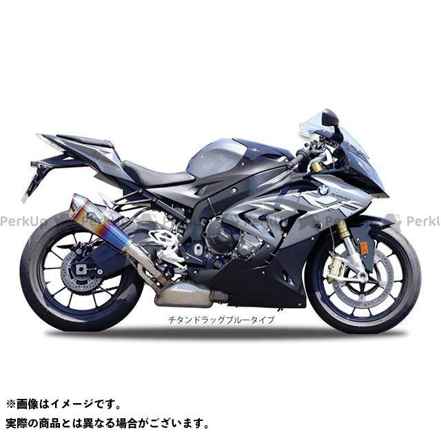 R's GEAR S1000RR マフラー本体 ワイバンリアルスペック スリップオン(チタンドラッグブルー) アールズギア
