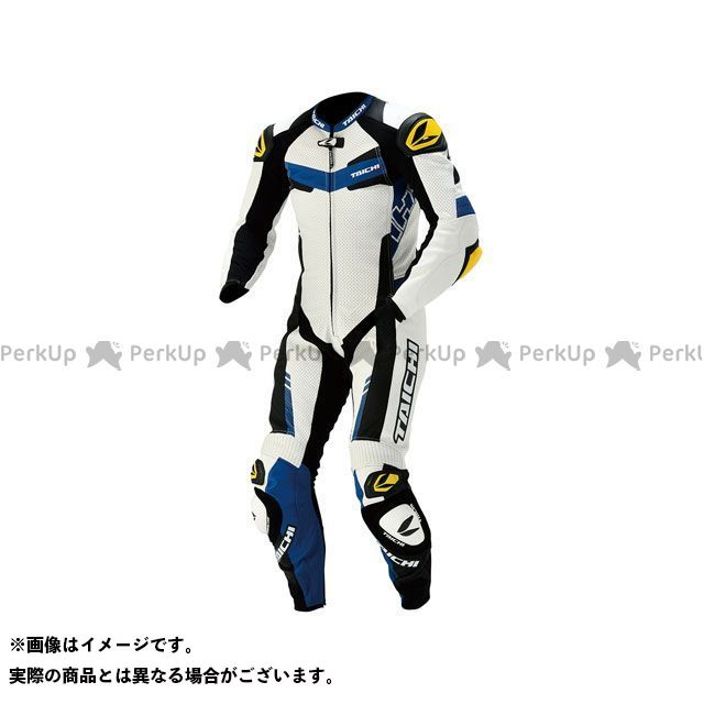 R305 レーシングスーツ LEATHER GP-WRX NXL305 サイズ:3XL/58 SUIT(ブルー) RSタイチ RSTAICHI