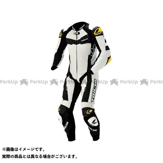 SUIT(ホワイト) レーシングスーツ サイズ:M NXL305 GP-WRX LEATHER RSタイチ RSTAICHI R305
