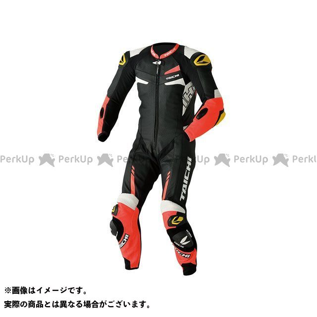 アールエスタイチ レーシングスーツ NXL306 GP-WRX R306 RACING SUIT TECH-AIR対応(ネオンレッド) サイズ:L RSタイチ